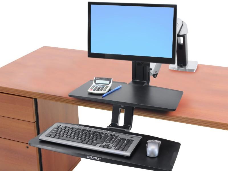 Ergotron Workfit A Halterung Mit Tastaturablage 24 390 026