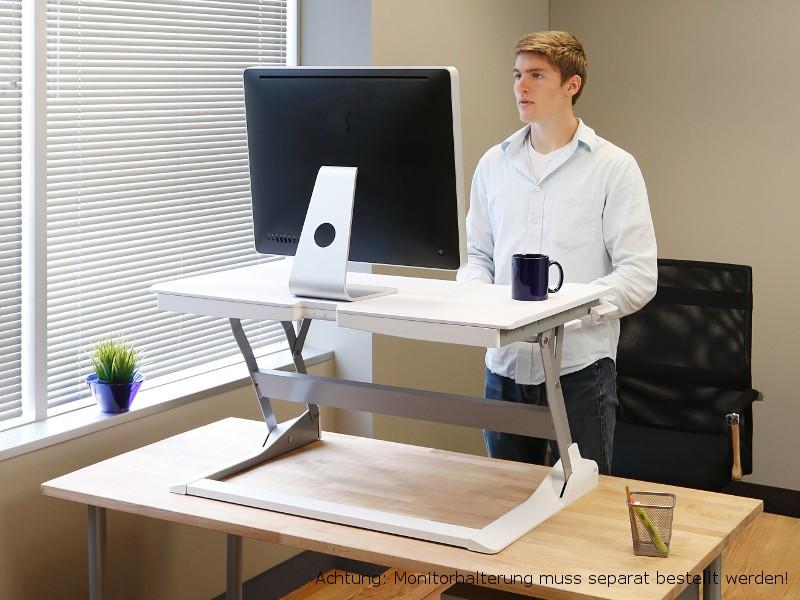 Ergotron Workfit Tl Sit Stand Desktop Workstation Wei 223 33