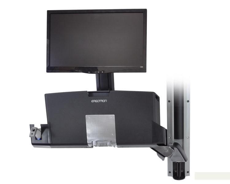 Ergotron Styleview Sit Stand Combo Medium Pc Halter 45 270 026