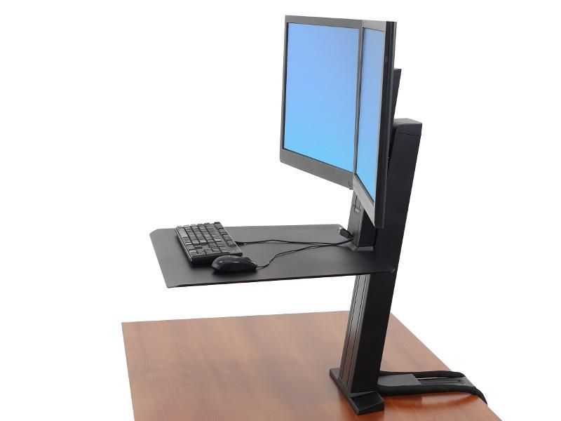 Ergotron Workfit Sr Sit Stand Dual Tischhalter 33 407 085