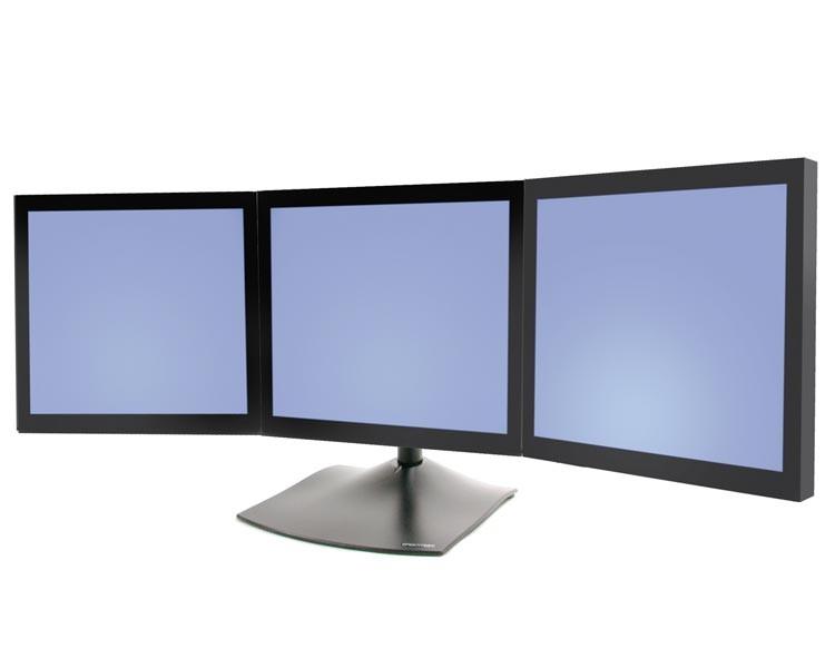 Ergotron DS40 Standfuß 40 Monitore Horizontal 40404024040 Interesting 3 Monitor Display Stand